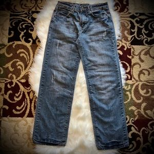 Carbon Distressed Jeans